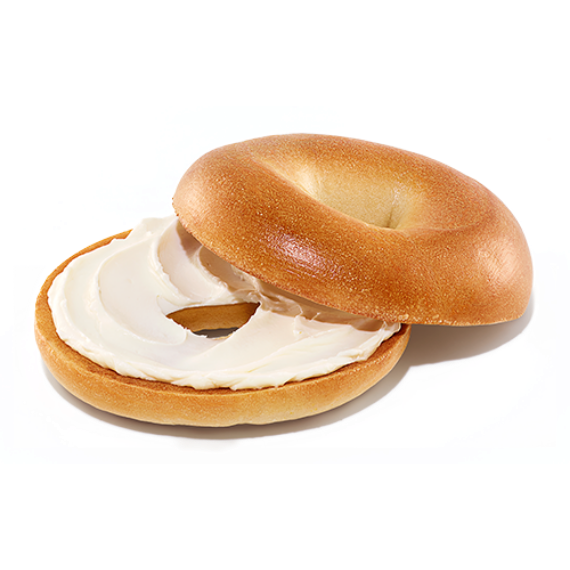 Bagels With Cream Cheese Spread Start Your Day Right Dunkin