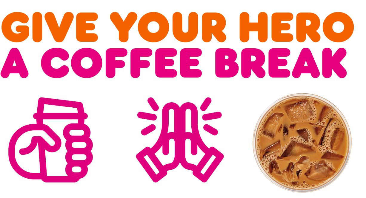 Give your hero a coffee break